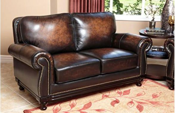 Big Man leather sofas near me, FREE shipping, save on