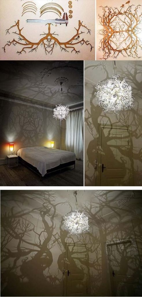 14 kreative ideen f r selbstgemachte lampenschirme deko diy lampen kreative lampen und. Black Bedroom Furniture Sets. Home Design Ideas