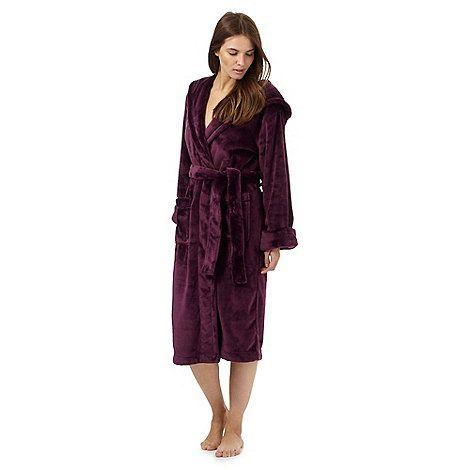 J by Jasper Conran Dark purple dressing gown | Debenhams | Wish List ...