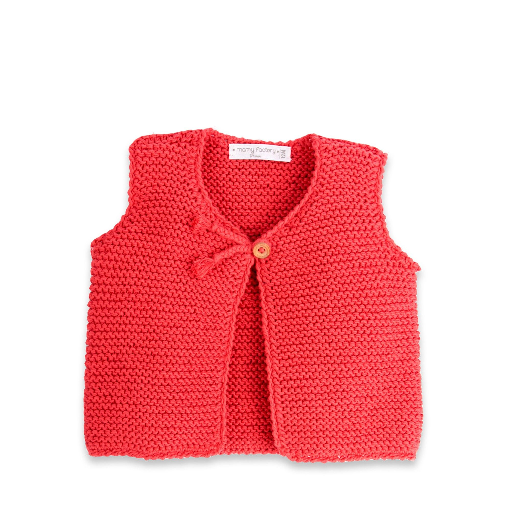 Modèle Tricot Gilet Sans Manche Fille Knit Baby Tricot