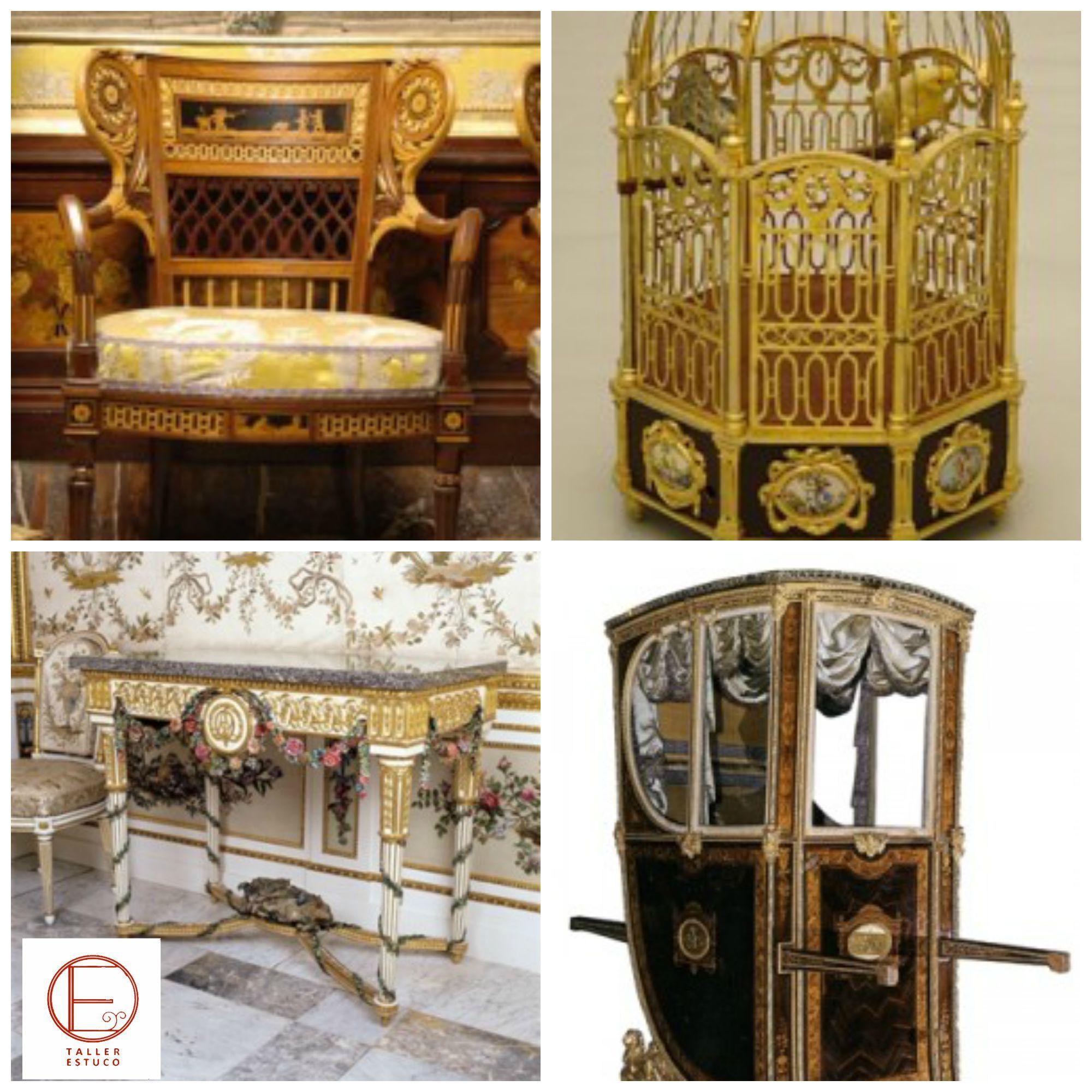 Muebles Del Palacio Real Pertenecientes A Carlos Iv 1 Silla De  # Muebles Coin Vert