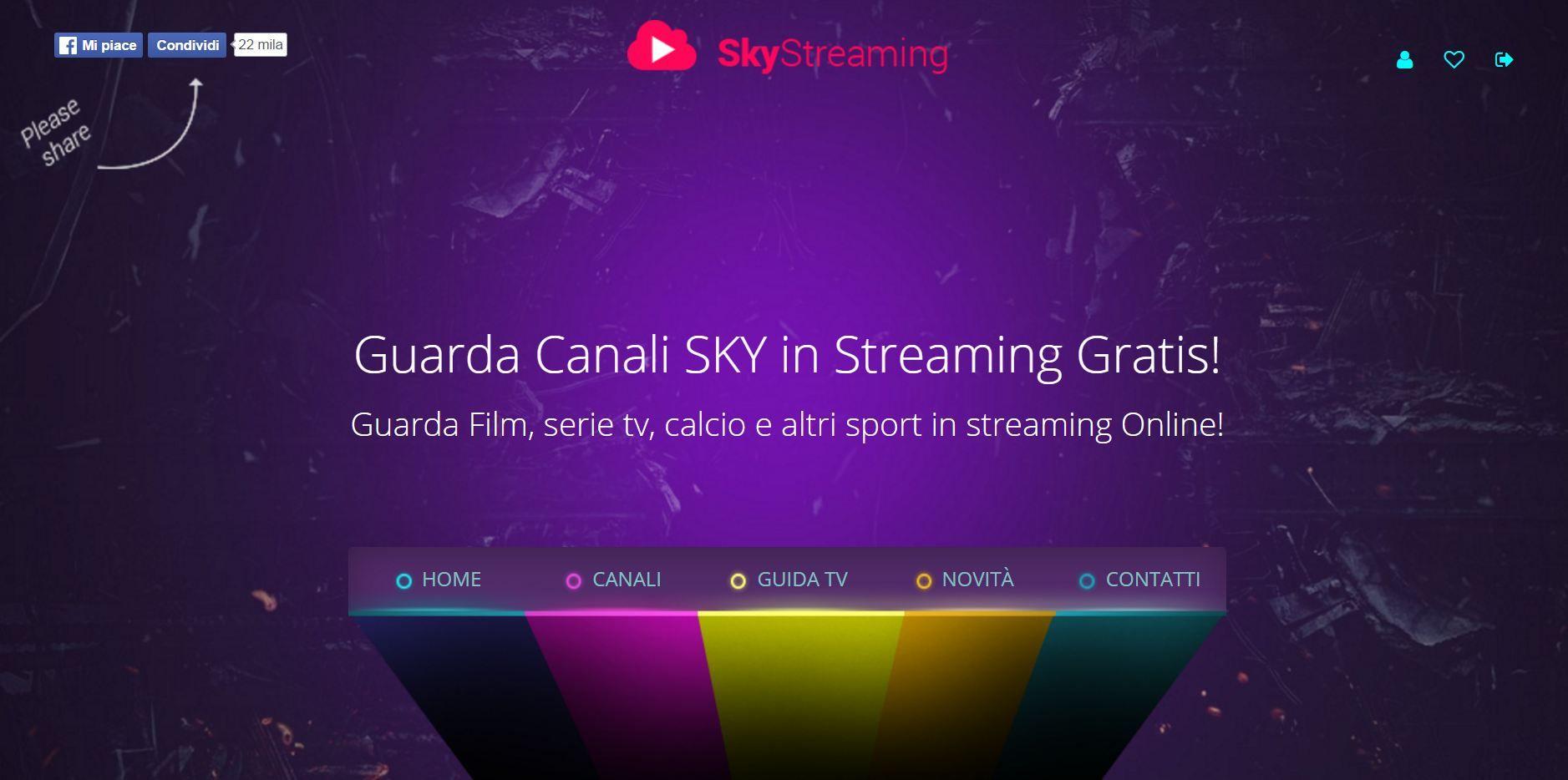 Sky Stream Free