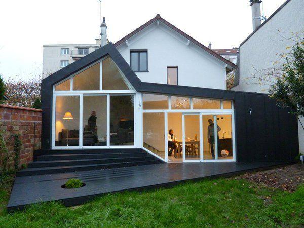 les 25 meilleures id es de la cat gorie bardage aluminium sur pinterest serre bardage veranda. Black Bedroom Furniture Sets. Home Design Ideas