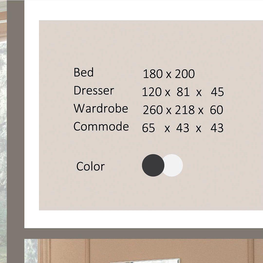 Soon Sleek Bedroom Modern Pay To Reserve Your Bedroom قريبا سلكا غرفة نوم صناعة تركيا ذو جودة عالية من احدى خيارات متعد Dresser Commode Color