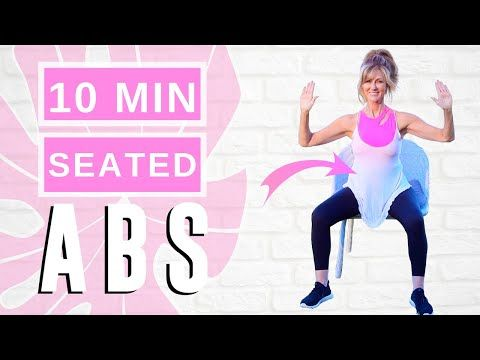 10 min seated ab workout for women over 50  beginner low