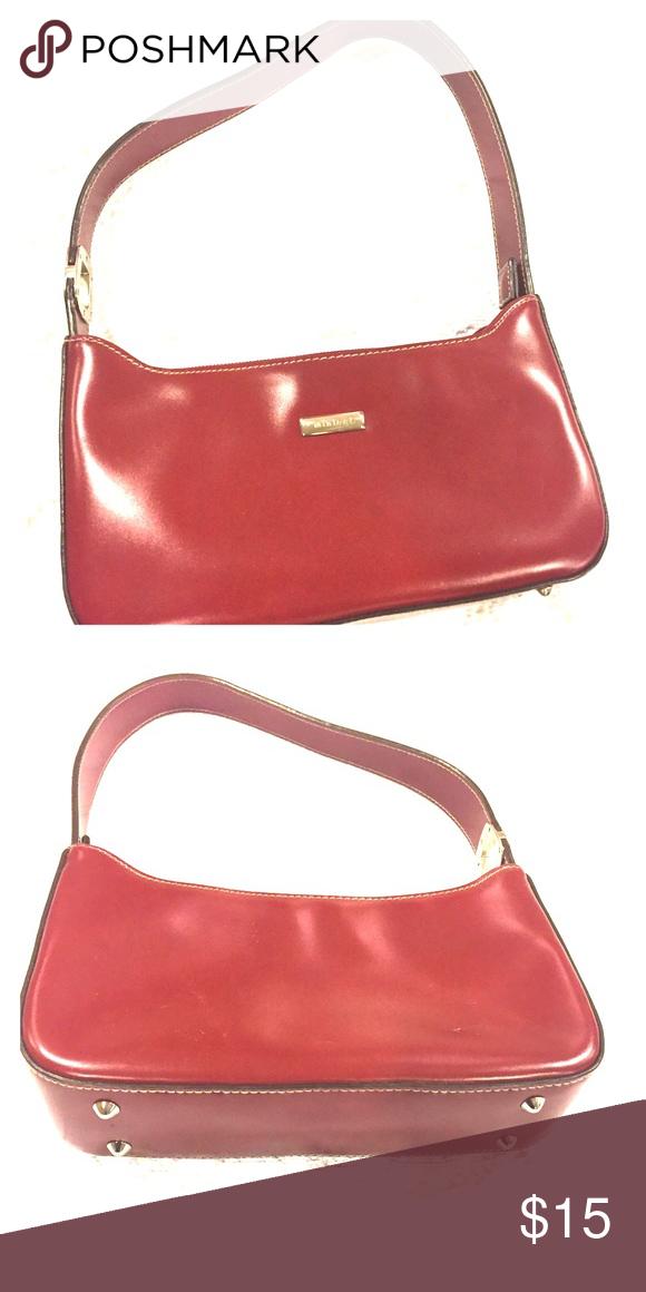 8000529a063ab Red Vegan Purse Nine West Vinyl Purse like New. Nine West Bags Mini Bags   9westpurses