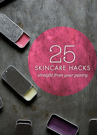 25 homemade skincare hacks to try today. #homemadeskincare