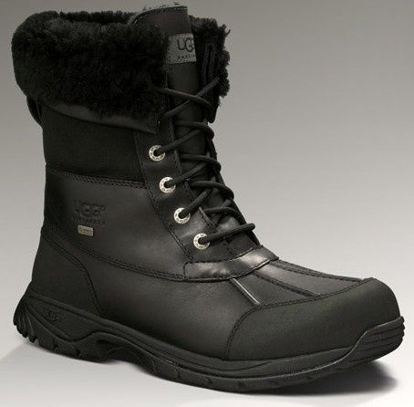 d1e85f57034 Mens UGG Butte 5521 Black | Yes Please.... | Boots, Uggs, Cold ...