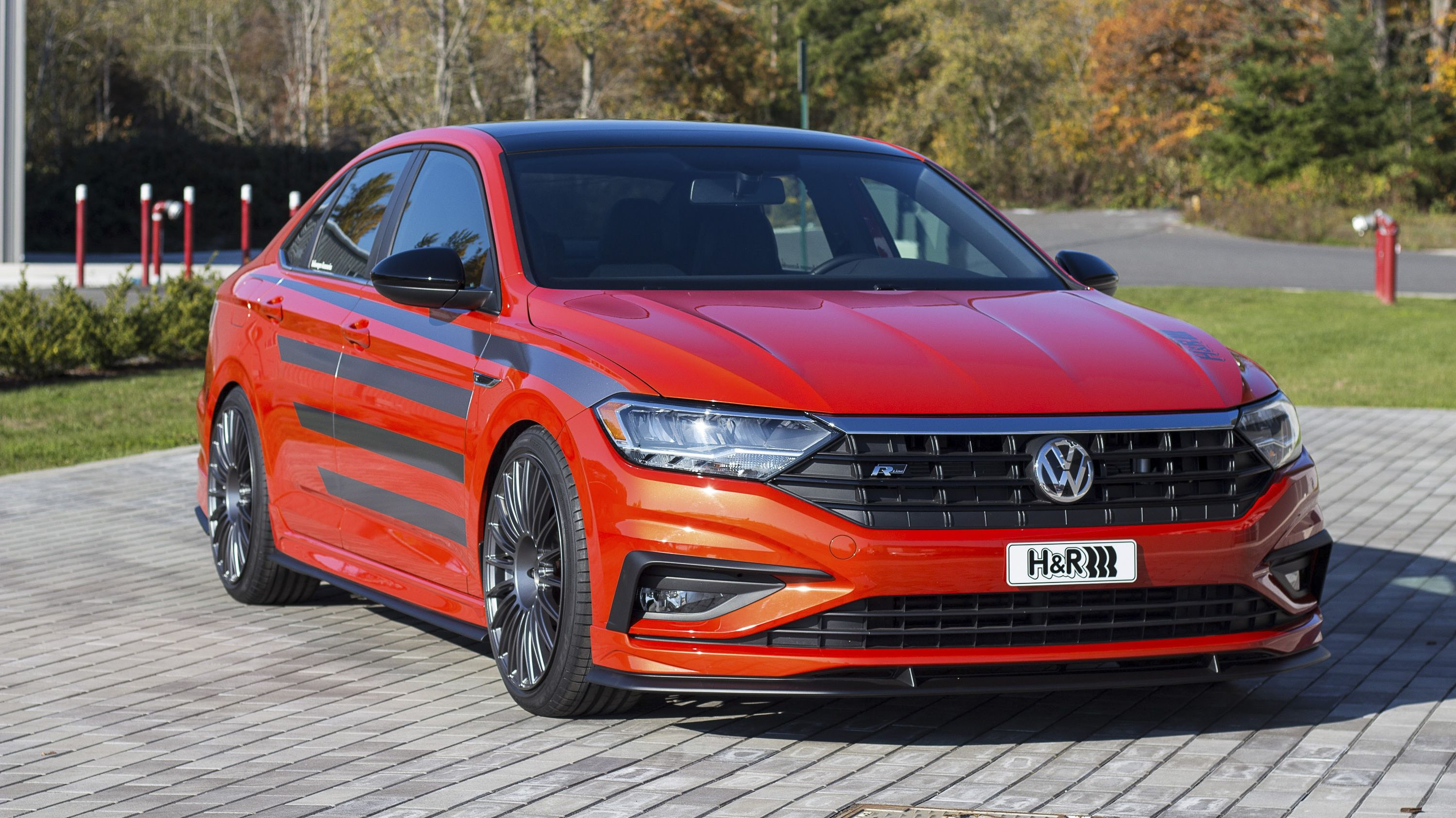 2019 Volkswagen Jetta R Line By H R Special Springs Top Speed Volkswagen Jetta Volkswagen Vw Jetta