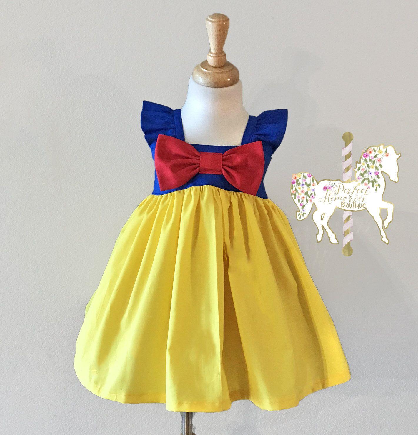 Micky Halloween dress Disney Park Visit Baby dress Ready to ship Toddler dress Flutter sleeve dress