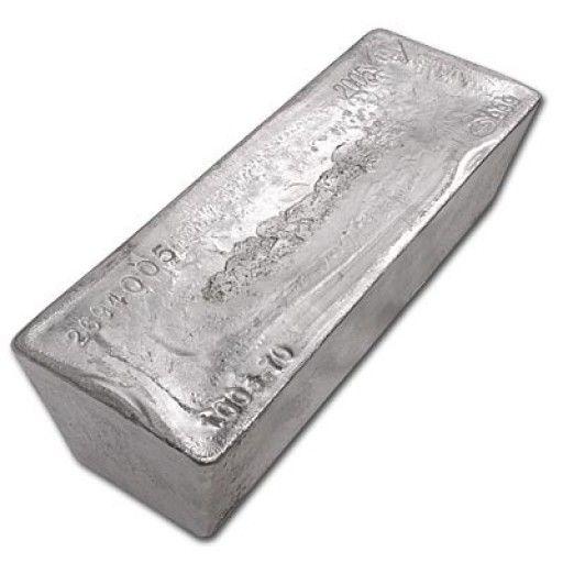 Lbma Silver 1000 Oz Bar Vat Free
