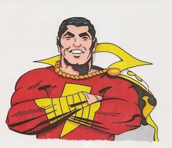 captain marvel jack kirby