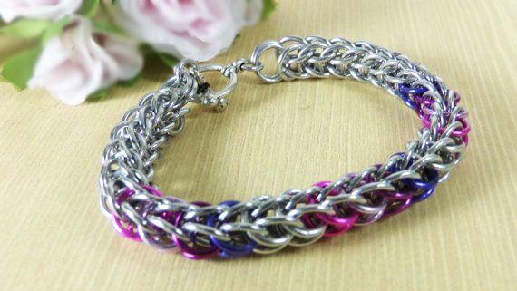 Full persian bracelet Chainmaille bracelet by RoseBriarDesigns