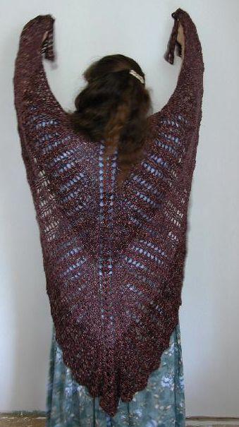 free shawl patterns to crochet | ... crochet shawl pattern 10 Most Popular Free Crochet Shawl Patterns