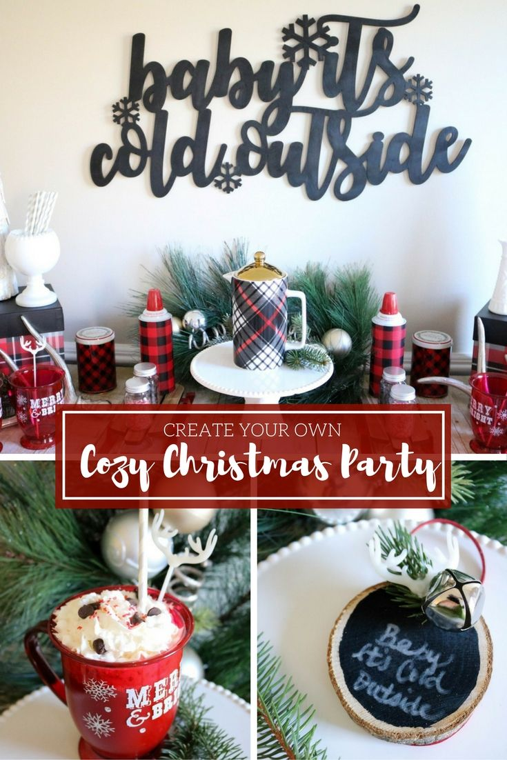 Fun365 Craft Party Wedding Classroom Ideas Inspiration Christmas Party Checklist Cozy Christmas Christmas Birthday Party