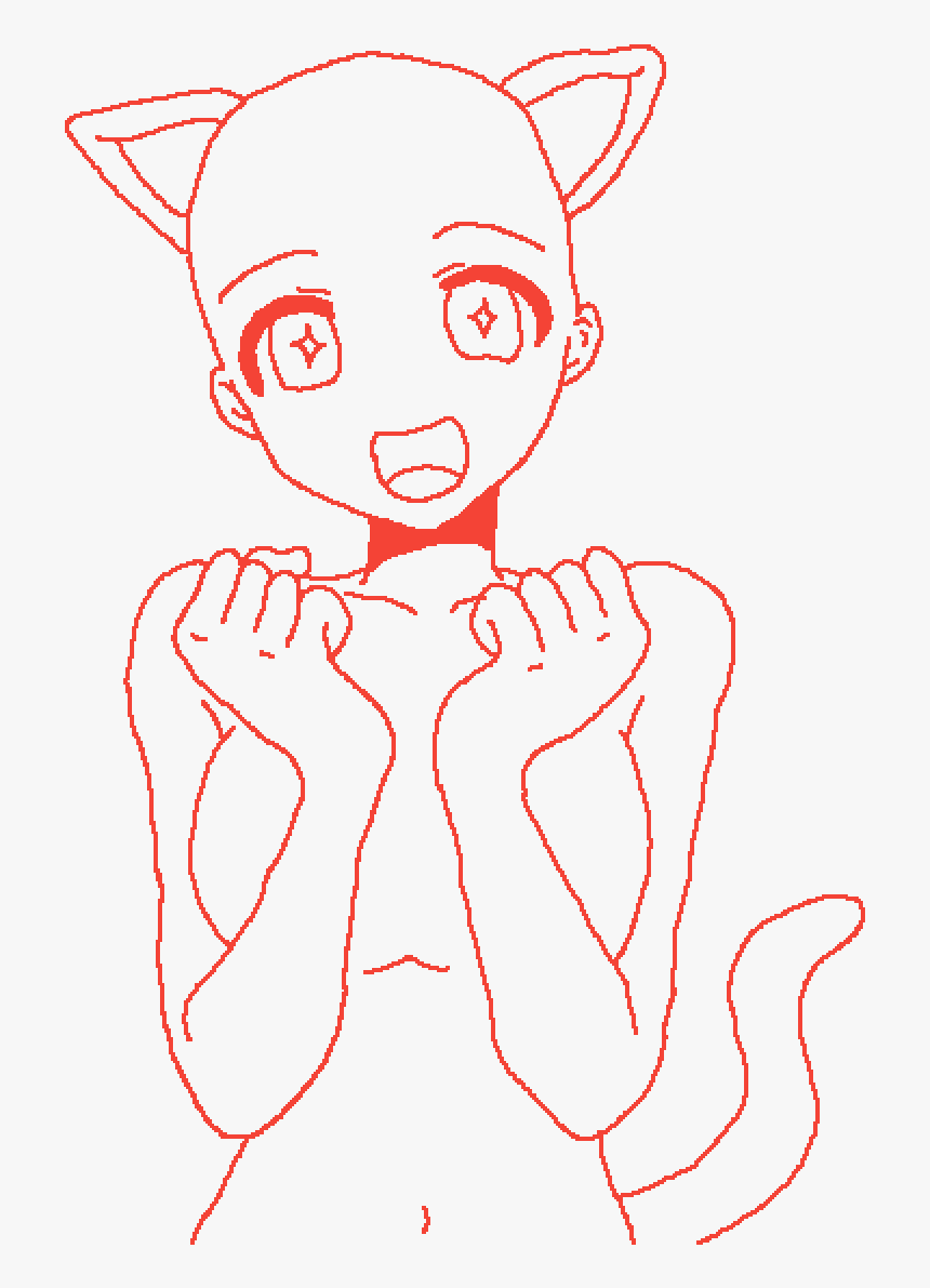 Main Image Cat Girl Base By Basecreator101 Anime Cat Girl Base Hd Png Download Is Free Transparent Png Image To Explore Mor Cat Girl Anime Base Chibi Anime