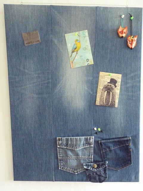 prikbord spijkerbroek