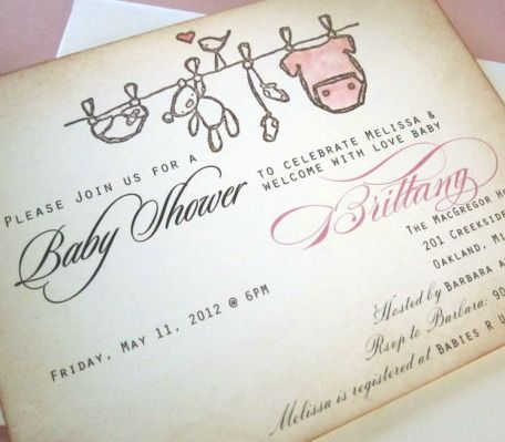 Vintage baby shower invites cute baby shower stuff pinterest vintage baby shower invites filmwisefo Images