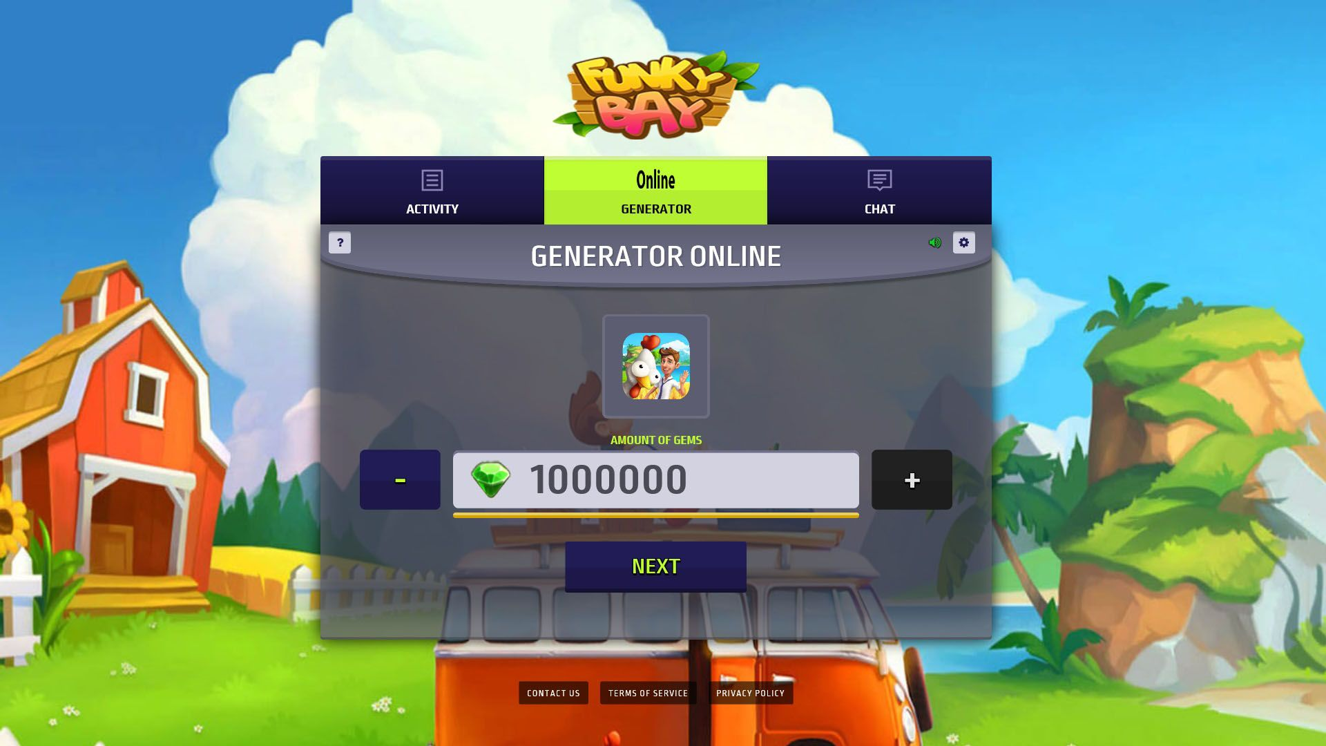 Funky Bay Hack Mod Get Gems and Coins | Game Online