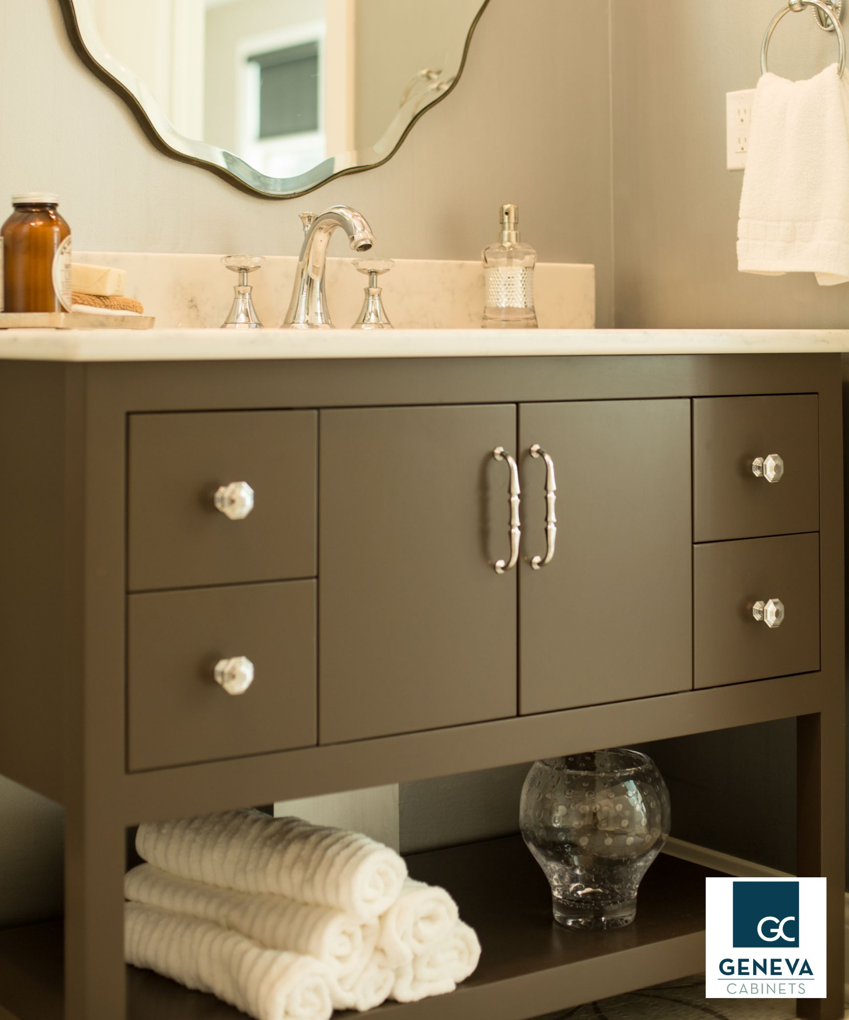 Now In Our Showroom This Exceptional Vanity By The Furniture