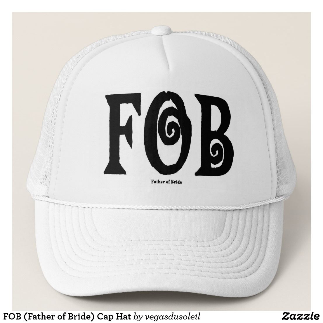 FOB (Father of Bride) Cap Hat Father Of The Bride dc32a8474f5f