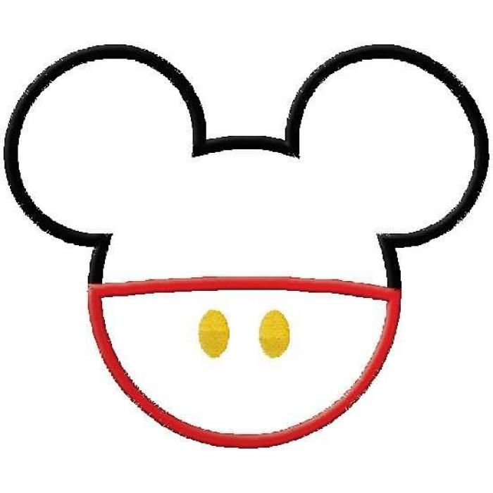 go back gallery for mickey ears hat clip art mickey mouse rh pinterest com mickey ears outline clip art mickey ears silhouette clip art