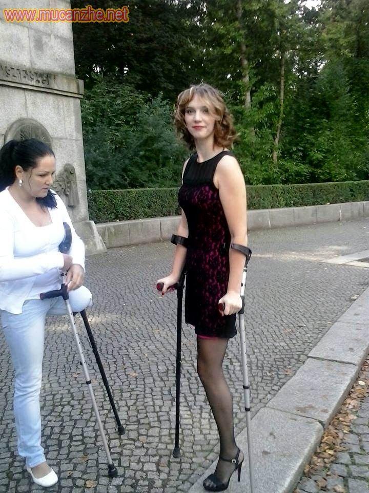 Amputierte Beine