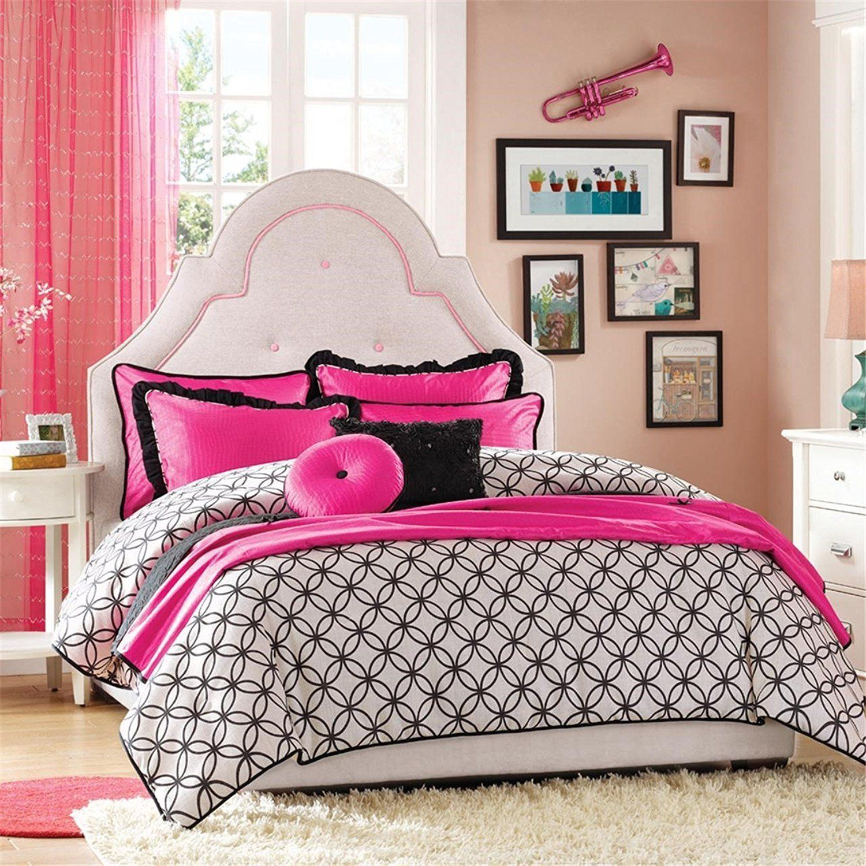 Hampton Hill Glamour Girls Comforter Set, Twin, Multicolor