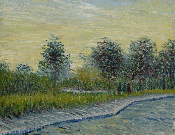 Square Saint-Pierre at Sunset, 1887, Vincent van Gogh, Van Gogh Museum, Amsterdam (Vincent van Gogh Foundation)