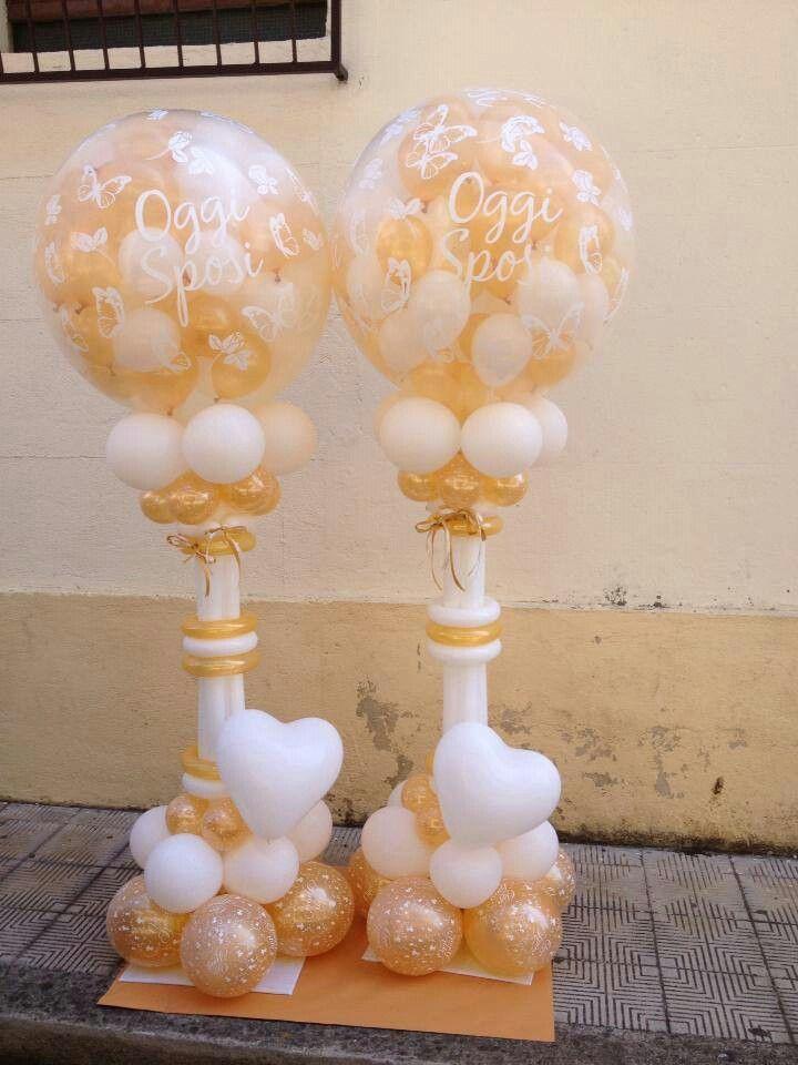 colunnas para boda | decoracion globos | pinterest | decoración con