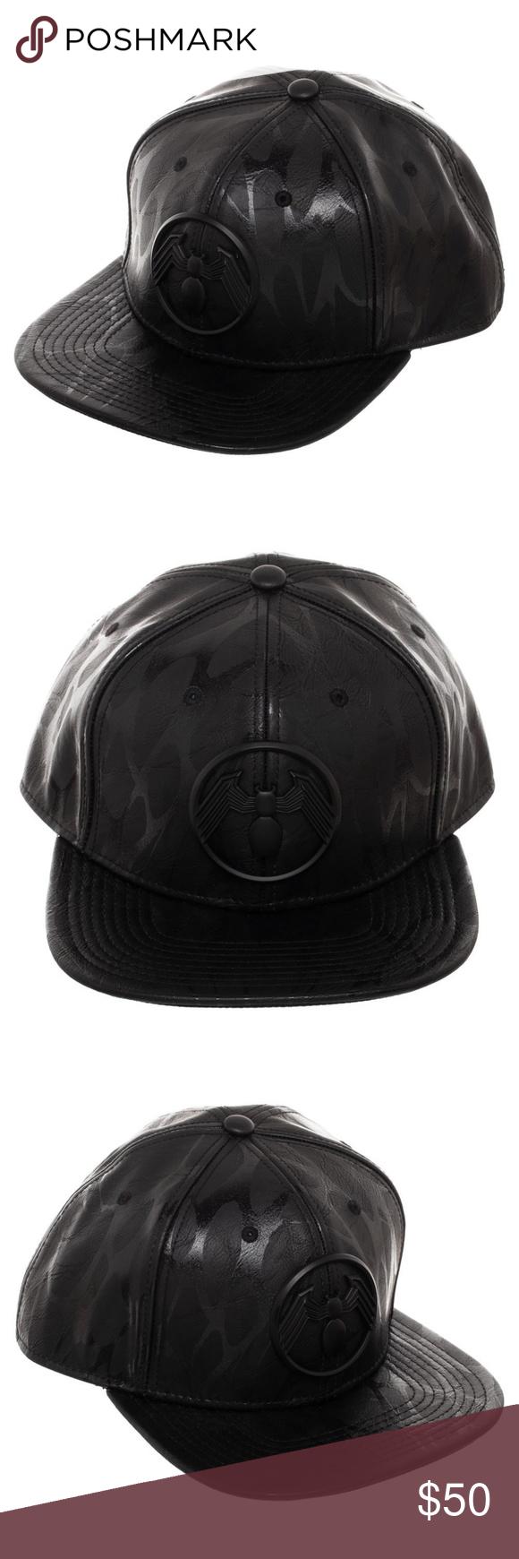 5a8c64f9 VENOM Snapback Hat Symbiote Marvel Comics Panels This is for 1 Venom themed  hat. Very