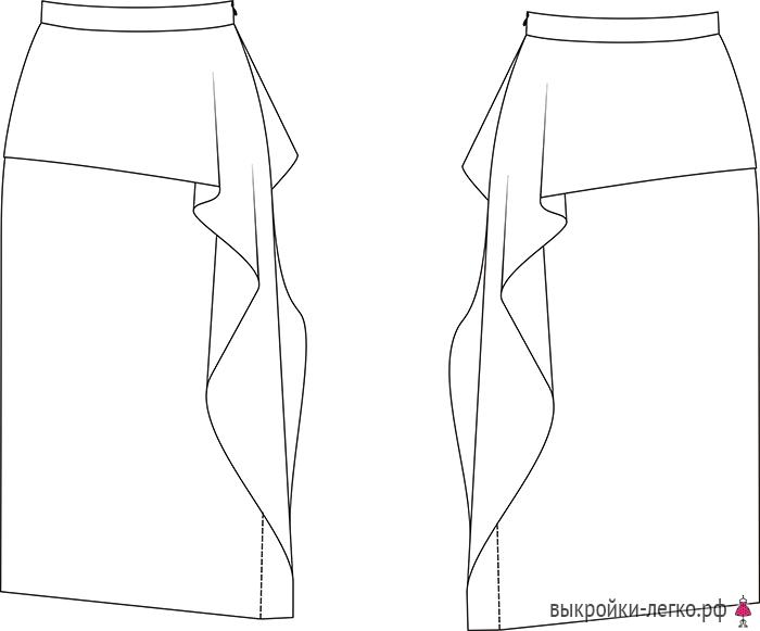 модные юбки и выкройки в картинках связи этой