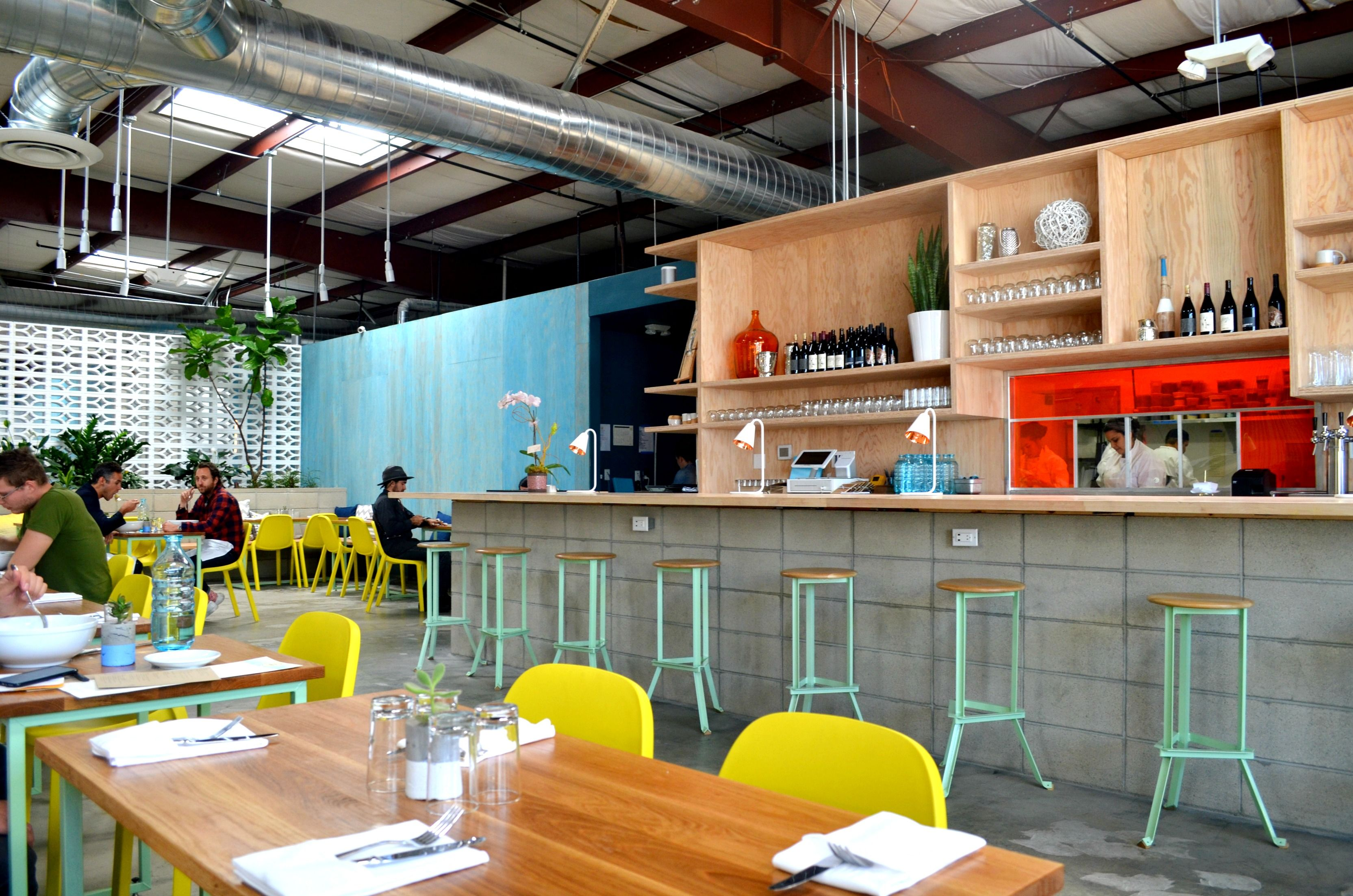 We Just Booked Our Tickets And Are So Thrilled To Be In La For The Shopup In Less Than A Month I Bar Restaurant Interior Colorful Restaurant Restaurant Design