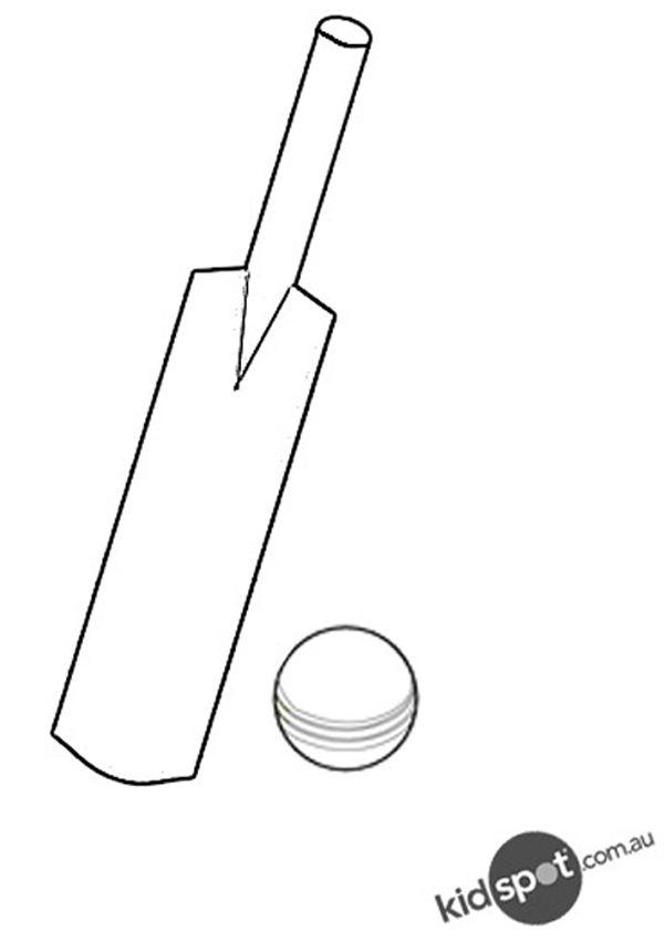 Cricket Bat Template Images - Template Design Ideas
