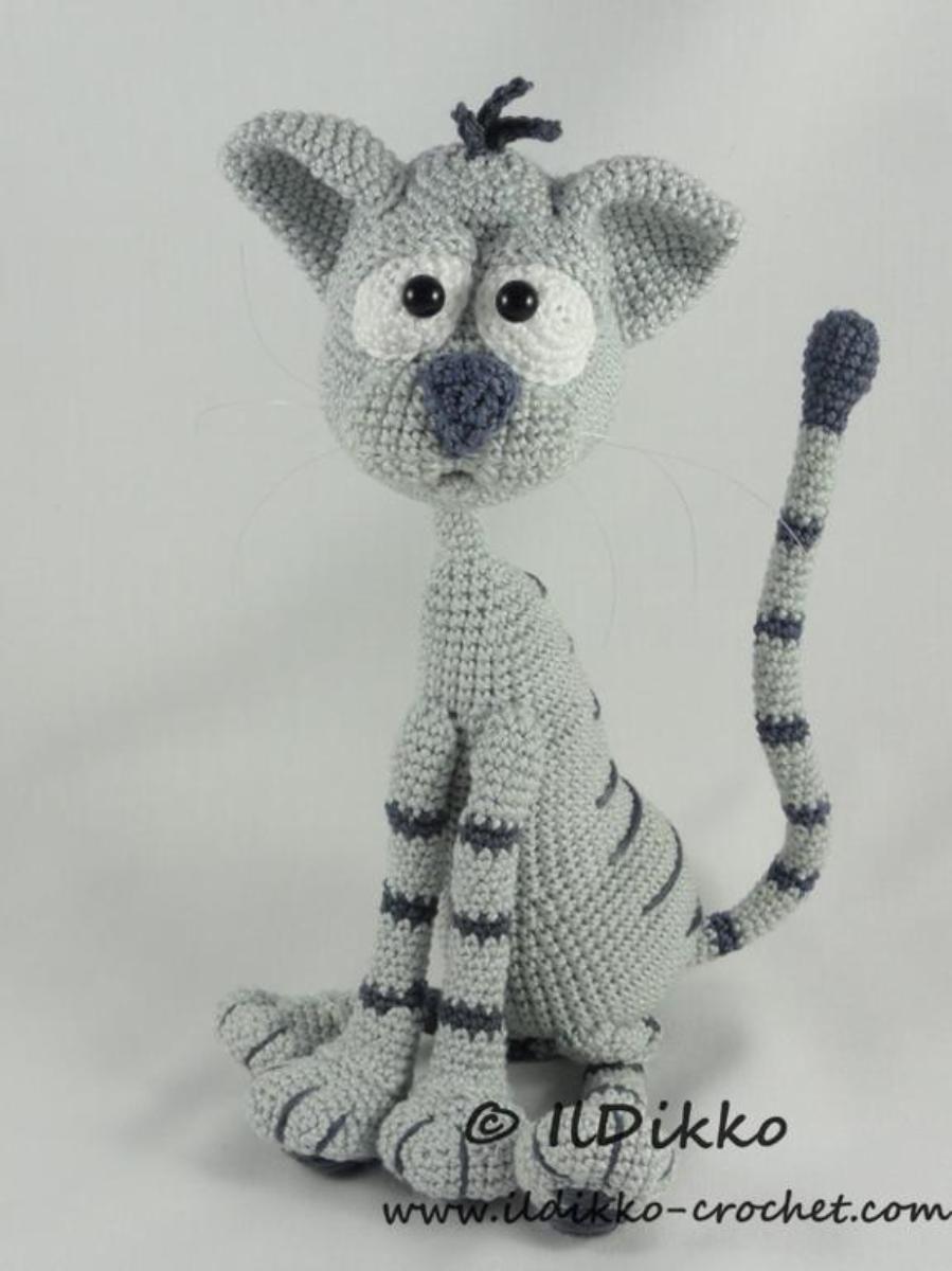 Kit the Cat - Amigurumi Pattern | juguetes | Pinterest | Croché ...