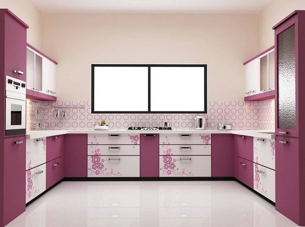 finding ideas for pink kitchen design? then get latest pink color