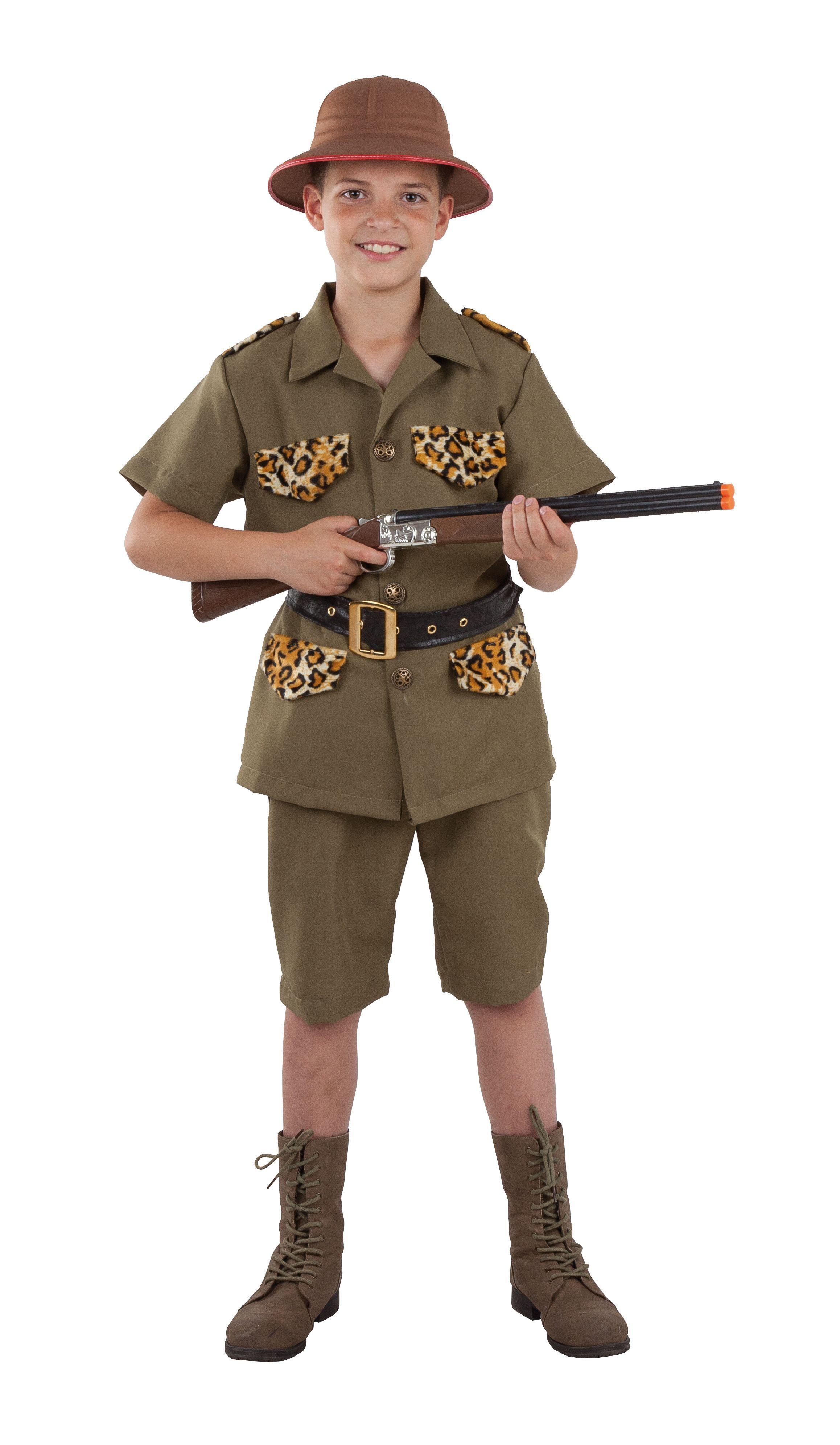 Cazadora Africano NiñoCostura Disfraz De Safari Para uwXTlPkOZi