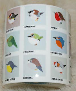 Howkapow - Round Birds Mug