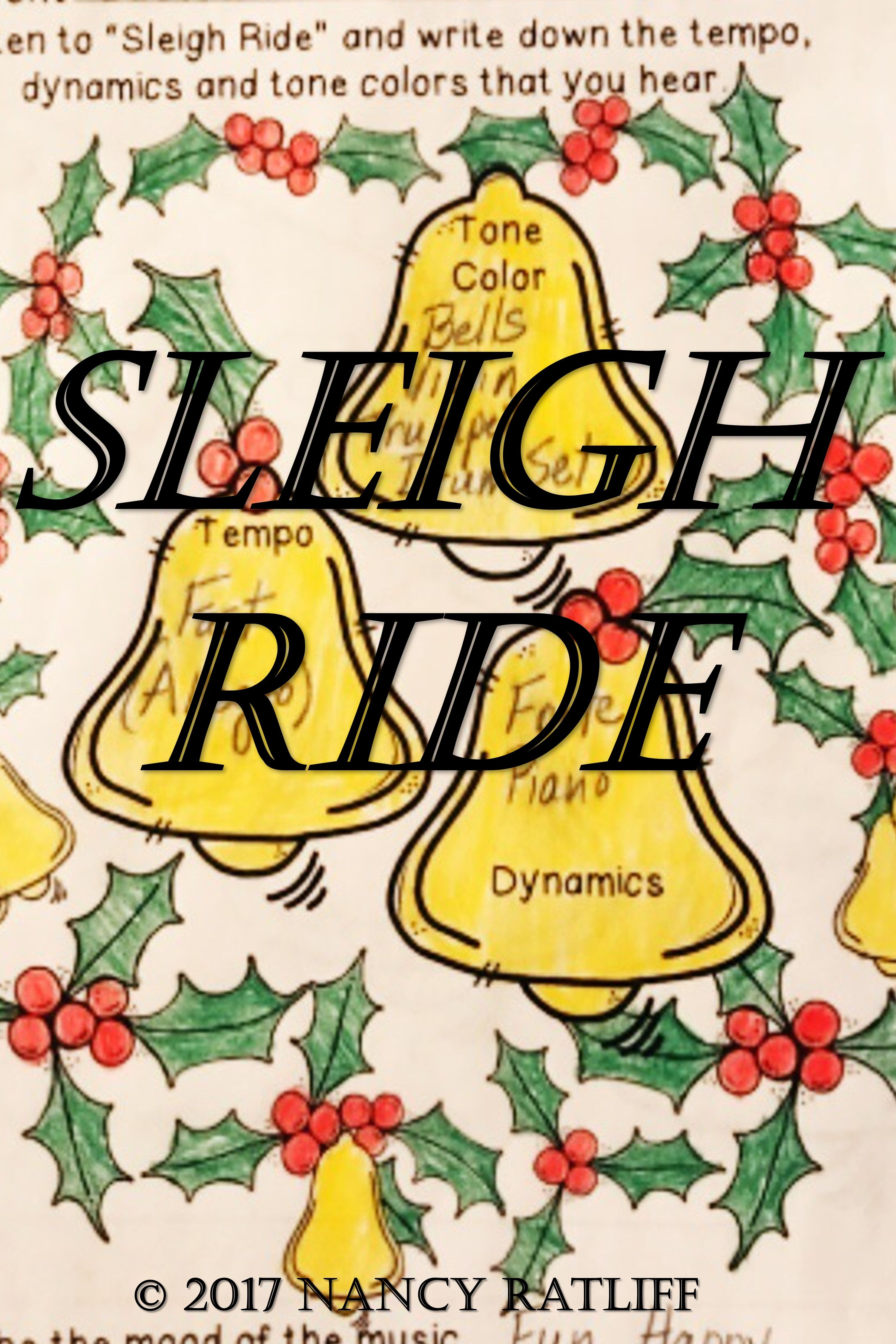 Sleigh Ride Music Listening And Mood Activity Sheet