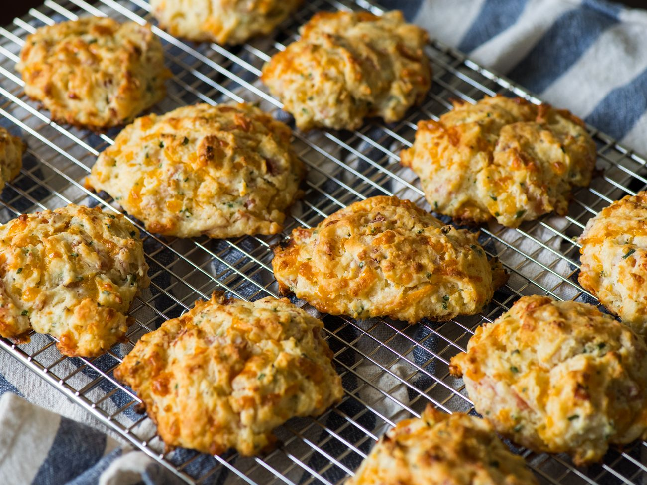 Ham and cheese drop biscuits recipe drop biscuits