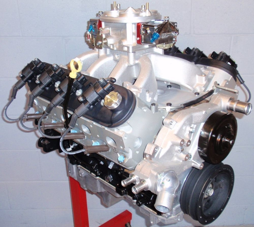Chevy 6 0l 366 lq4 ls2 ls6 545 horse complete crate engine pro built 370 new