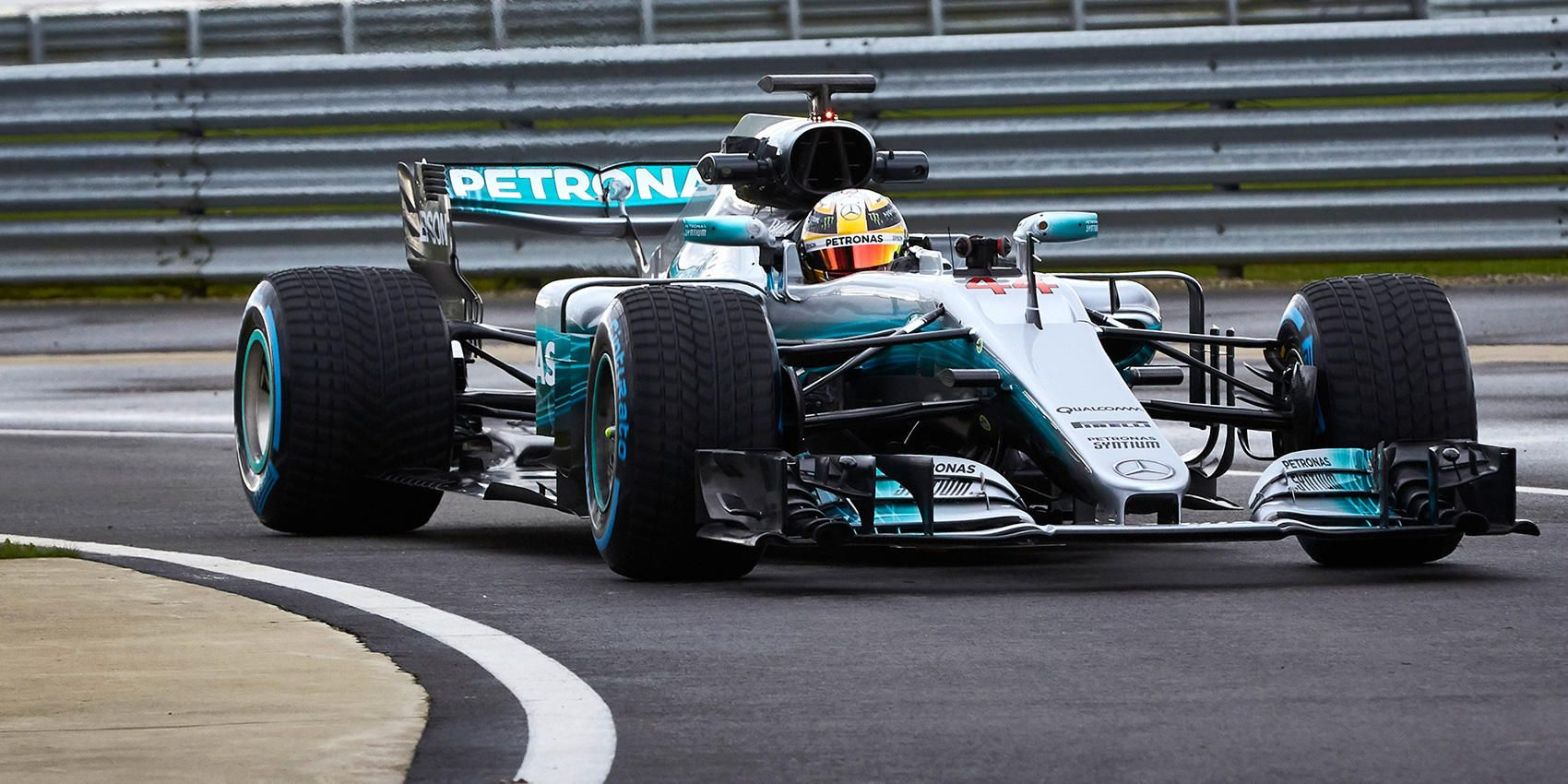 The Mercedes Car Is The Gorgeous Racer With The Dumb Name
