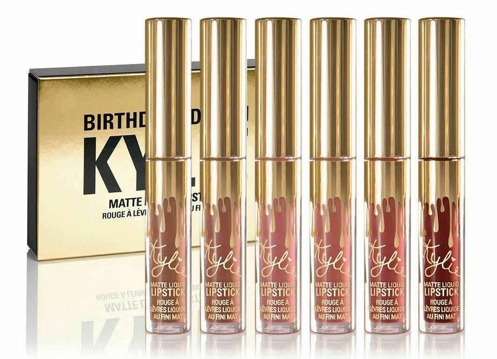 Fashion KYLIE Birthday Edition Matte Liquid Litpstick in