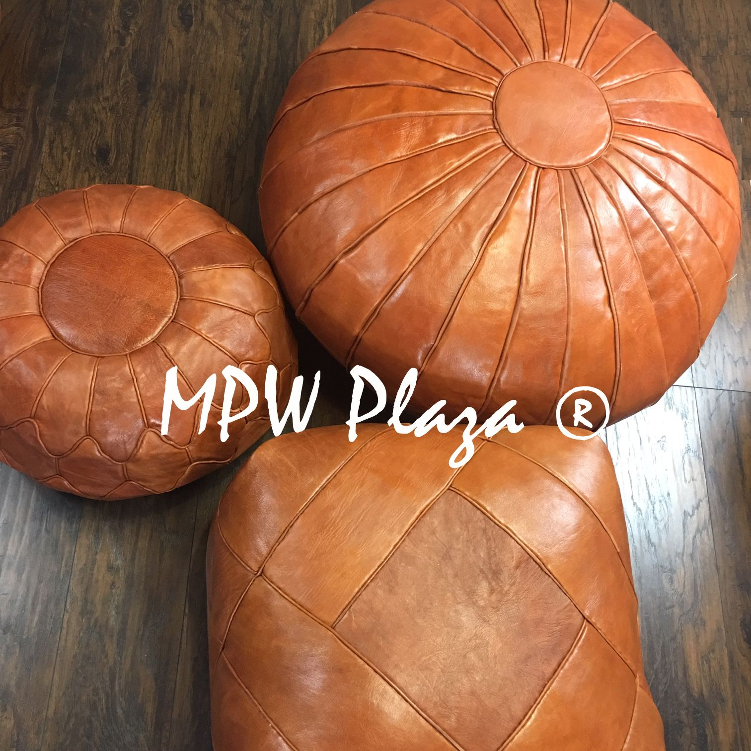 Pouf Deco Brown Stuffed 19x29 In 2020 French Cottage Moroccan