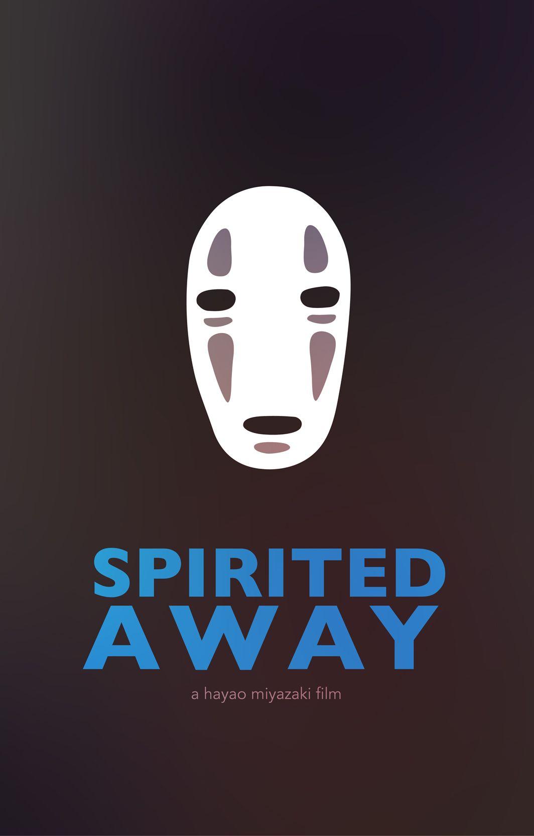 Spirited Away Minimalist Movie Poster | Graphic ...