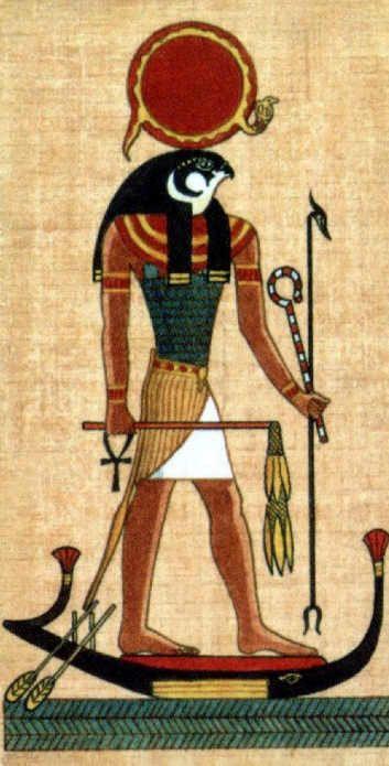Dios Ra Antiguo Arte Egipcio Arte Egipcio Dioses Egipcios
