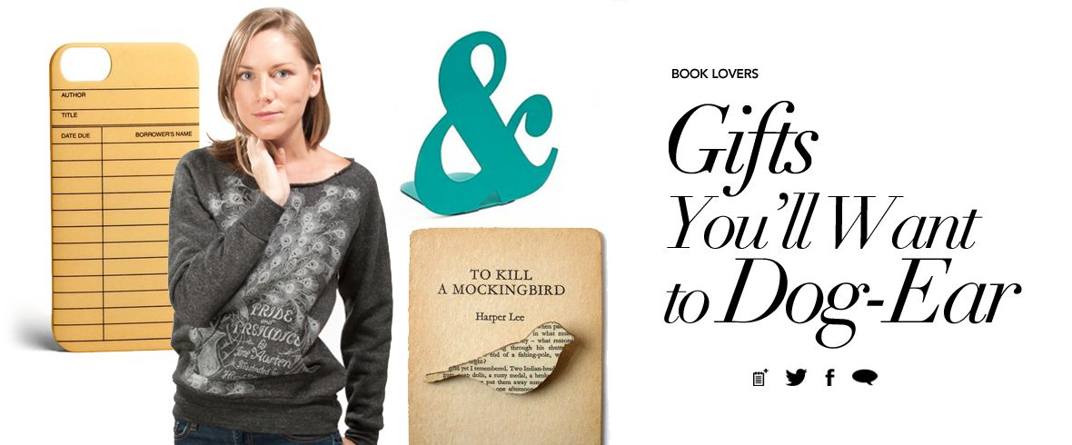 DailyCandy Gifts for Book Lovers