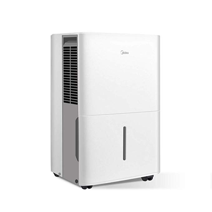 MIDEA MAD70C1YWS Dehumidifier 70 Pint With Reusable Filter