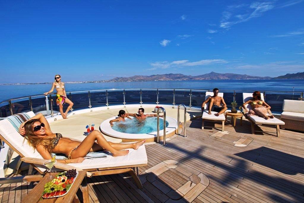 Mega Yacht News | Mega yacht - Sun deck - 82m Luxury ...
