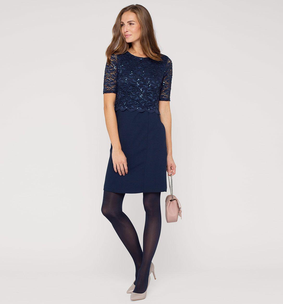 Kleid in dunkelblau   Vestidos de fiesta 2016, Vestidos ...